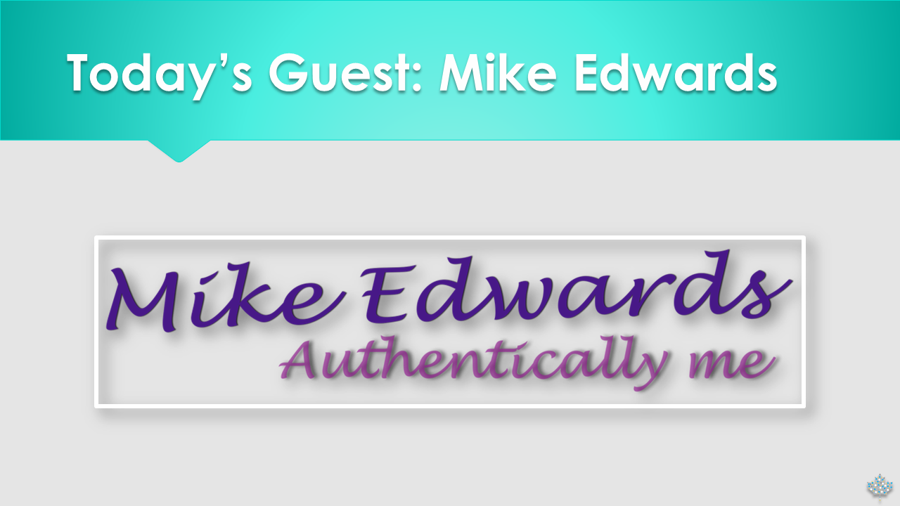 Across the Desk with Elizabeth Plouffe and guest Mike Edwards